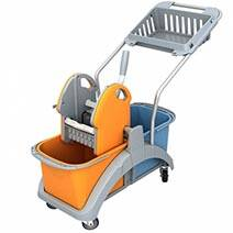 Cleaning trolleys