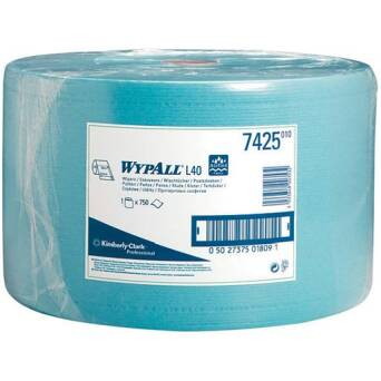 Wiper roll blue 285 m Kimberly Clark WYPALL L40