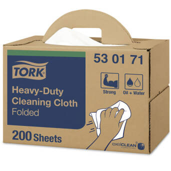 Multipurpose cloth Tork Premium 530 White W7