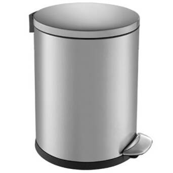 Bathroom waste bin 5 litres stainless steel TOP SILENT LUNA Merida