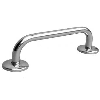 Straight steel handrail for disabled 50 cm