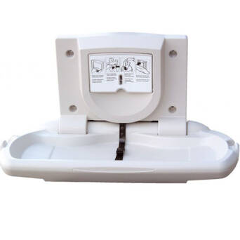 Folding baby changing station horizontal Merida