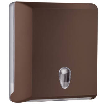 Folded paper towel dispenser M brown