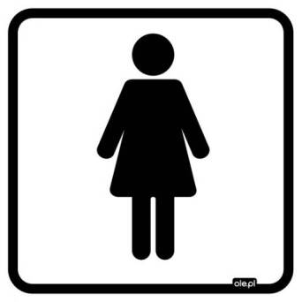 Label Information toilet for women