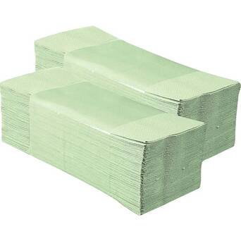 Folded paper towel Economy 1 layer 4000 green