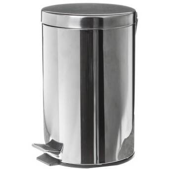 Trash bin 12l stainless steel