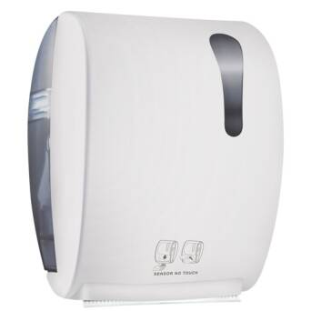 Roll paper towel dispenser white