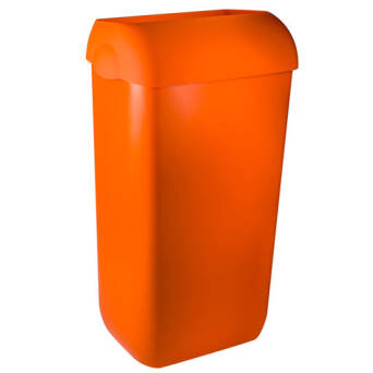 Trash bin 23l orange