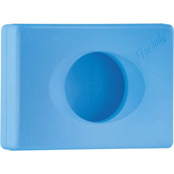 Sanitary bags dispenser blue