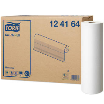 Couch roll 185 m white TORK