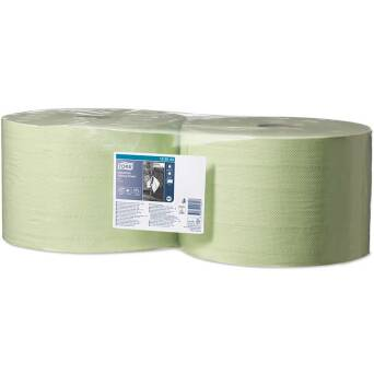 Wiper roll Tork Premium green 500 m