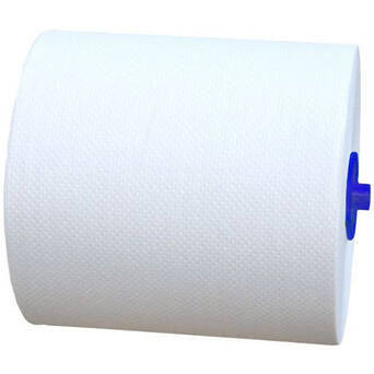 Paper towel with adapter Merida Top Automatic maxi 6 rolls 2 layers 100 m white cellulose