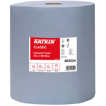 Katrin Classic Industrial Towel XXL3 Blue 500 Laminated