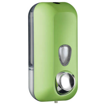 Liquid soap dispenser 550 ml green
