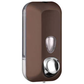 Liquid soap dispenser 550 ml brown