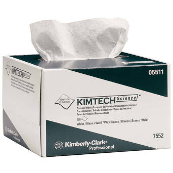 Low-lint wiper for clean spaces IV ISO Kimberly Clark
