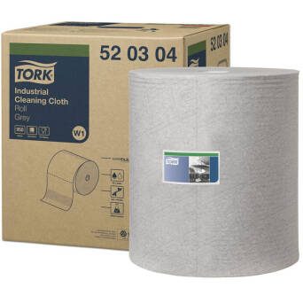 Multipurpose cloth roll Tork Premium 520 Grey