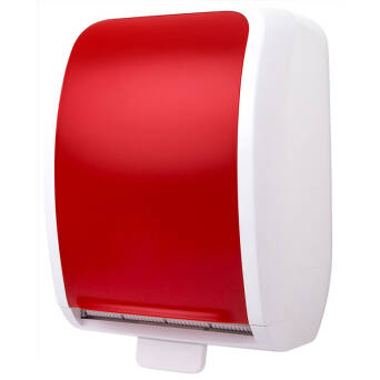 Roll paper towel dispenser Cosmos red