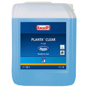 Planta® Clear eco glass cleaner 10l