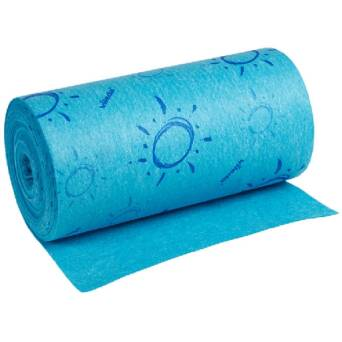 Quick'n'Dry blue wipe roll Vileda professional