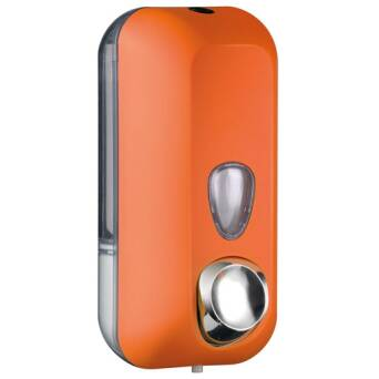 Liquid soap dispenser 550 ml orange