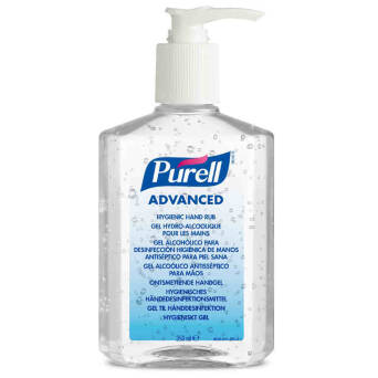 Surgical hand disinfection gel PURELL ADVANCED 350 ml