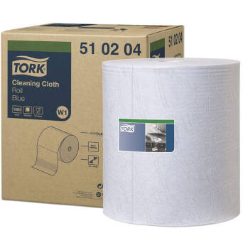 Multipurpose cloth roll Tork Premium 510 Blue