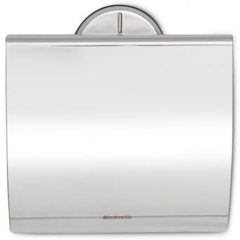 Roll toilet paper holder polished steel Brabantia