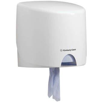 Centrefeed wiper roll dispenser AQUARIUS Kimberly Clark