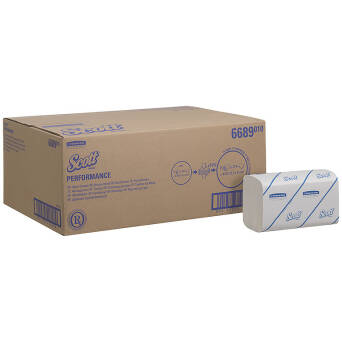 Folded paper towel ZZ 4110 pieces Kimberly Clark SCOTT