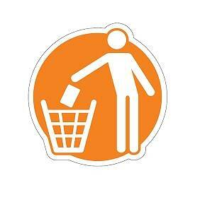 Orange pictogram – general