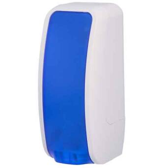 Foam soap dispenser Cosmos 1l blue and white