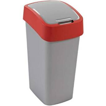 Recycling bin FLIP BIN 50 l red