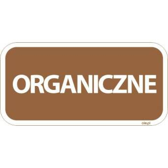 Sticker Organic dustbin