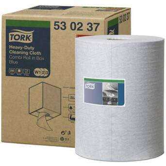 Multipurpose cloth roll Tork Premium 530 Blue