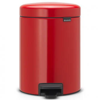 Waste bin red steel 5 litres Brabantia NEW ICON