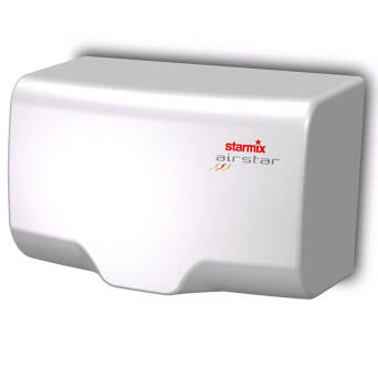 Vandal proof hand dryer white Starmix XT 1000