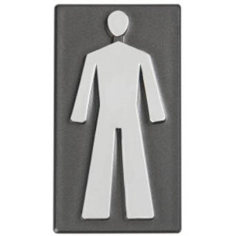 Metal Marking - MEN'S TOILET