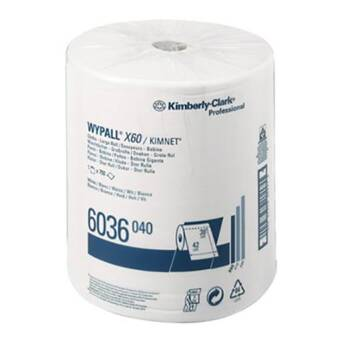 Wiper roll 190 m Kimberly Clark WYPALL X60