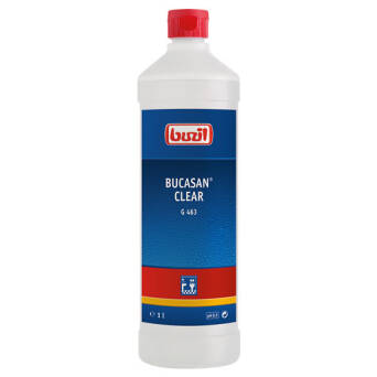 Bucasan® Clear  sanitary routine cleaner 1l
