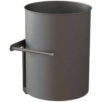 Under counter waste bin with regulation 30 l Merida stainless steel