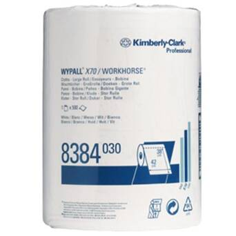 Wiper roll Kimberly Clark WYPALL X70