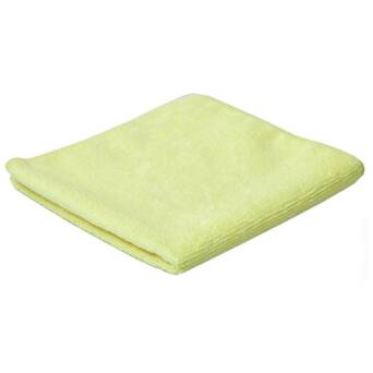 Microfibre Cloth Yellow Clean