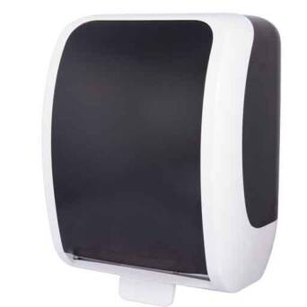 Hand towel dispenser  Cosmos autocut black and white
