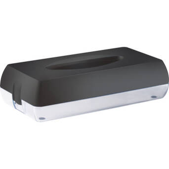 Toilet tissue dispenser black