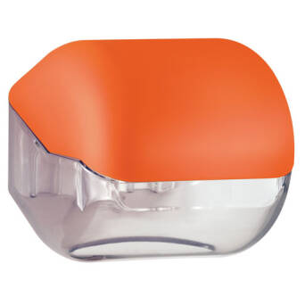 Toilet paper holder orange