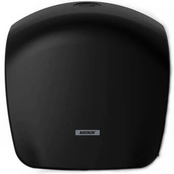 Toilet paper dispenser Katrin Gigant S black