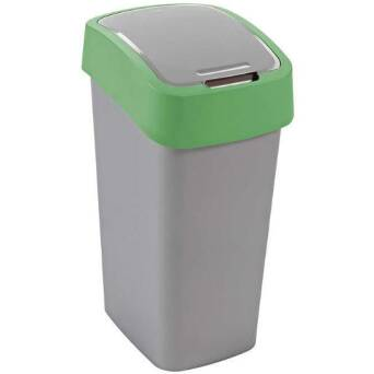 Recycling bin FLIP BIN 50 l green