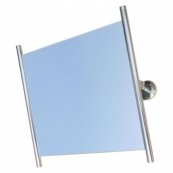 Bathrom mirror for disabled stainless steel 600 x 600 mm