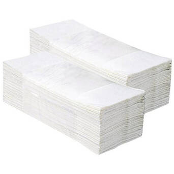 Folded paper towel Klasik 1 layer 4000 white
